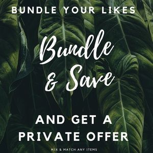 Bundle any Items for a Private Offer